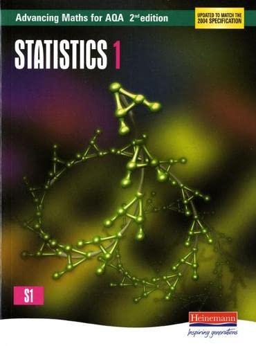 9780435513382: Advancing Maths for AQA: Statistics 1 2nd Edition (S1) (AQA Advancing Maths)