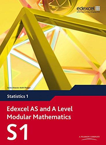 9780435519124: Edexcel AS and A Level Modular Mathematics Statistics 1 S1