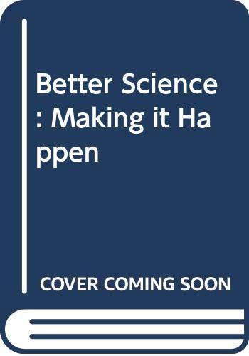 9780435548223: Better Science: Making it Happen