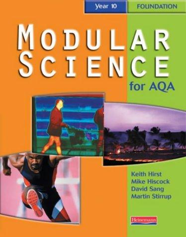 9780435571900: AQA Modular Science Year 10 Foundation Student Book (Modular Science for AQA)