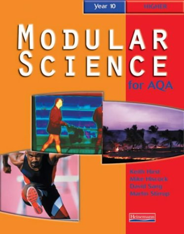 9780435571917: AQA Modular Science Year 10 Higher Student Book (Modular Science for AQA)