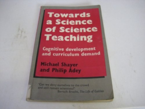 9780435578251: Towards a Science to Science Teaching