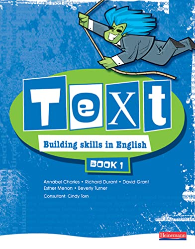 9780435579777: Text Building Skills in English 11-14 Student Book 1: Student Book Bk. 1