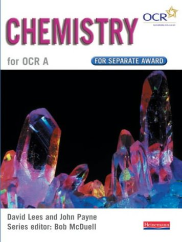 9780435582920: GCSE Science for OCR A: Chemistry Separate Award