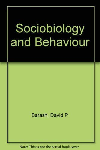 9780435620462: Sociobiology and Behaviour
