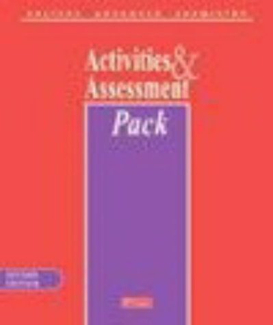 9780435631369: Salters Advanced Chemistry Activities & Assessment Pack with CD-ROM (Salters GCE Chemistry)