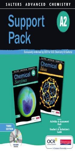 9780435631512: Salters Advanced Chemistry: Support Pack A2 (Salters GCE Chemistry)