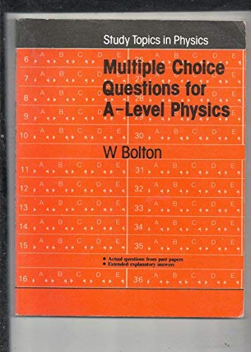 9780435680565: Multiple Choice Questions for A-level Physics