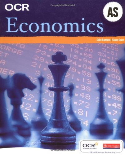 OCR AS Economics Student Book: Colin Bamford and