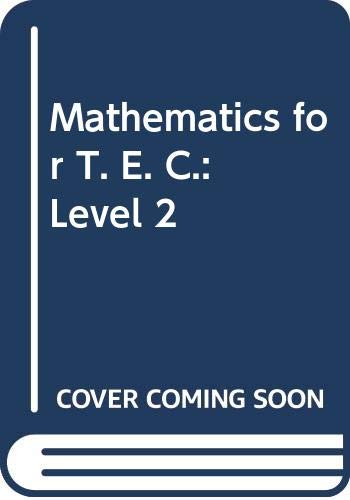 9780435710835: Mathematics for T. E. C.: Level 2