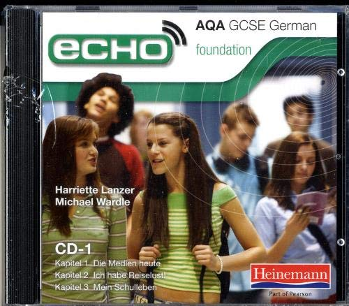 9780435720407: Echo AQA GCSE German Foundation Audio CD Pack