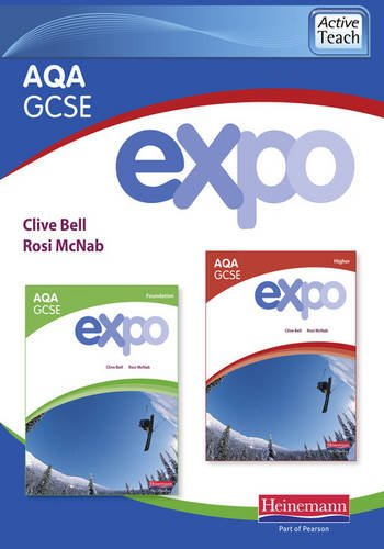 9780435720636: Expo AQA GCSE French ActiveTeach (Higher and Foundation)
