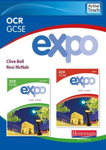 Expo OCR GCSE French ActiveTeach (Higher and Foundation): Clive Bell