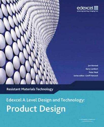 9780435757786: A Level Design and Technology for Edexcel: Product Design: Resistant Materials