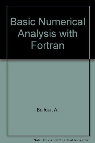 9780435774837: Basic Numerical Analysis with Fortran