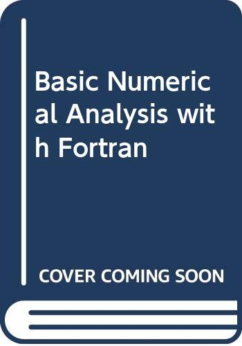 9780435774844: Basic Numerical Analysis with Fortran
