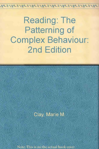 9780435802349: Reading: The Patterning of Complex Behaviour