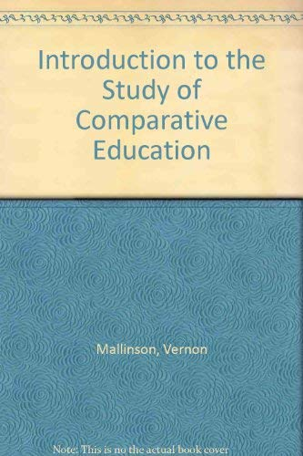 An Introduction To The Study Of Comparative: Vernon Mallinson