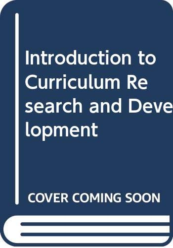 9780435808501: Introduction to Curriculum Research and Development