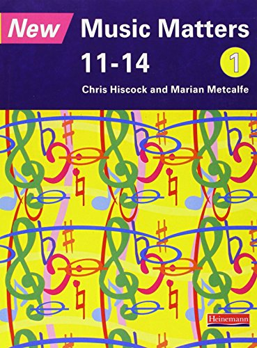 9780435810900: New Music Matters 11-14 Pupil Book 1 (Bk. 1)