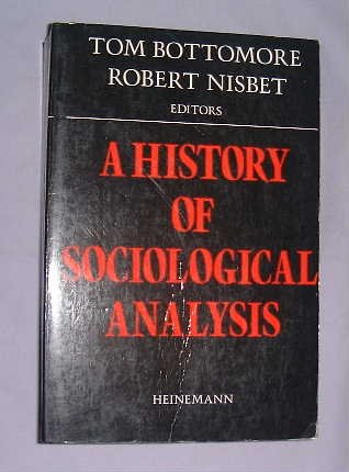 9780435820817: History of Sociological Analysis