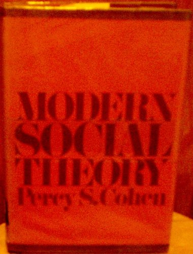Modern Social Theory: percy cohen