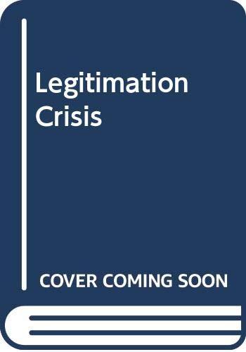 9780435823863: Legitimation Crisis