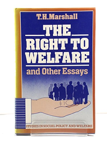 9780435825874: Right to Welfare and Other Essays