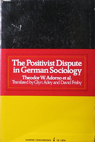 9780435826567: Positivist Dispute in German Sociology