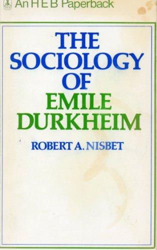 9780435826581: Sociology of Emile Durkheim