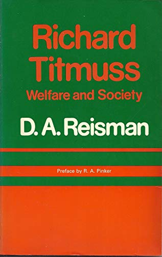 9780435827496: Richard Titmuss: Welfare and Society