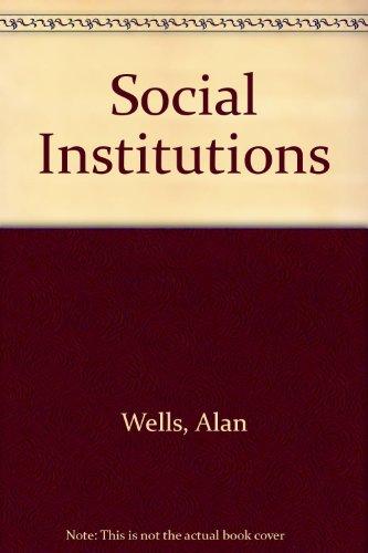 9780435829216: Social Institutions