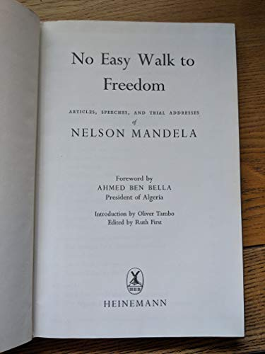 9780435835705: No Easy Walk to Freedom