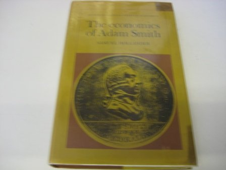 ECONOMICS OF ADAM SMITH: Samuel Hollander