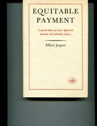 Equitable Payment (The Glacier project [no. 4]): Jaques, Elliott
