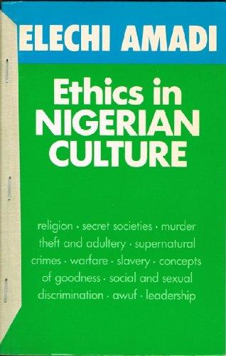 9780435890308: Ethics in Nigerian Culture