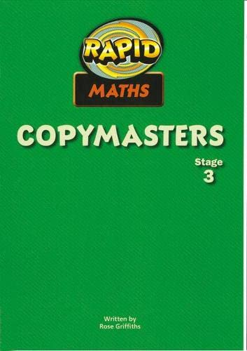 Rapid Maths: Stage 3 Teacher s Guide: Rose Griffiths