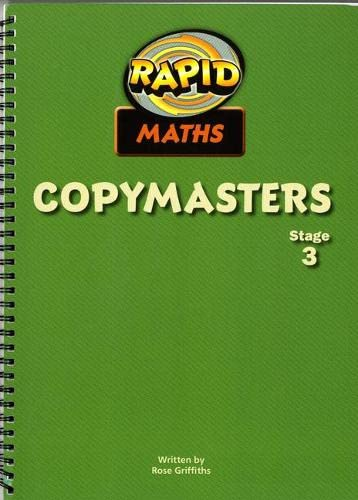 9780435912475: Rapid Maths: Stage 3 Pcm'S