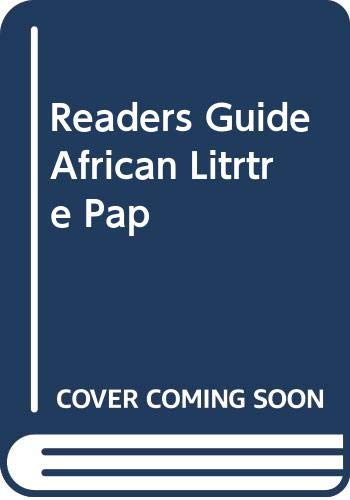 9780435919986: A reader's guide to African literature