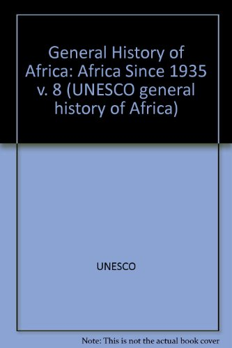 9780435948146: General History of Africa: Africa Since 1935 v. 8 (UNESCO general history of Africa)