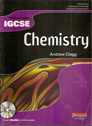 9780435966799: Heinemann IGCSE Chemistry Student Book with Exam Cafe CD