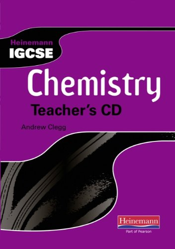 9780435966836: Heinemann IGCSE Chemistry: Teacher's CD