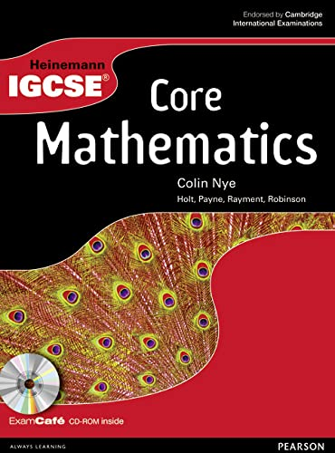 9780435966850: Heinemann IGCSE Core Mathematics Student Book with Exam Cafe CD