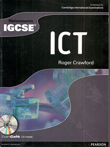9780435966874: Heinemann IGCSE ICT Student Book with Exam Cafe CD
