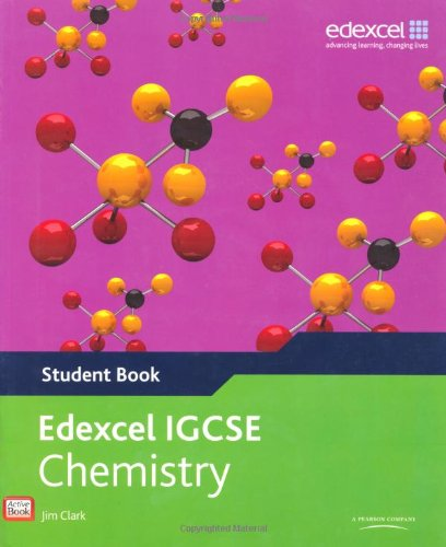 9780435966898: Edexel international GCSE chemistry student book. Per le Scuole superiori. Con espansione online (Edexcel International GCSE)