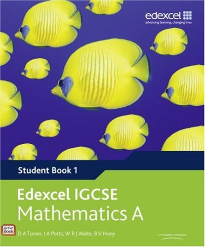 9780435966911: Edexcel International GCSE Mathematics A Student Book 1 with ActiveBook CD