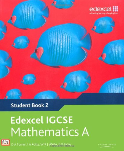 9780435966928: Edexcel International GCSE Mathematics A Student Book 2 with ActiveBook CD