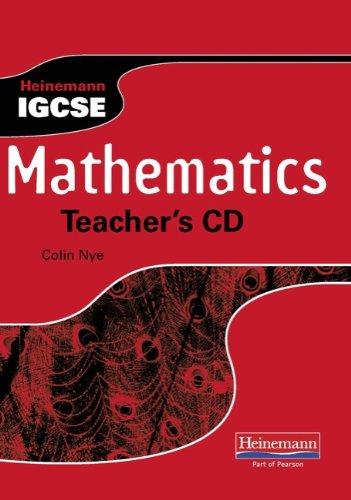 9780435966935: Heinemann IGCSE Mathematics Teacher's CD
