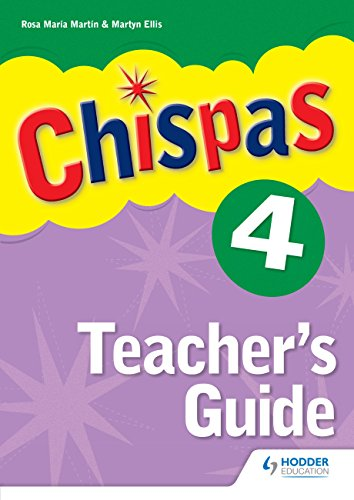 Chispas: Teachers Guide Level 4 (Mixed media product)