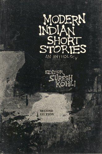 Modern Indian Short Stories: Kohli, S